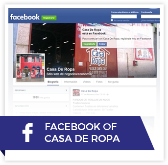Facebook de Casa De Ropa